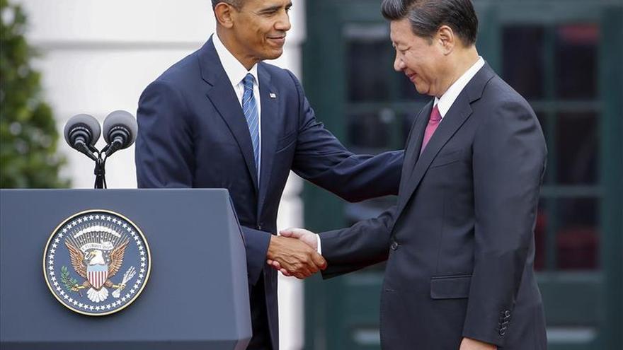 """Obama recibe a Xi en la Casa Blanca para hablar """"francamente"""" de sus diferencias"""