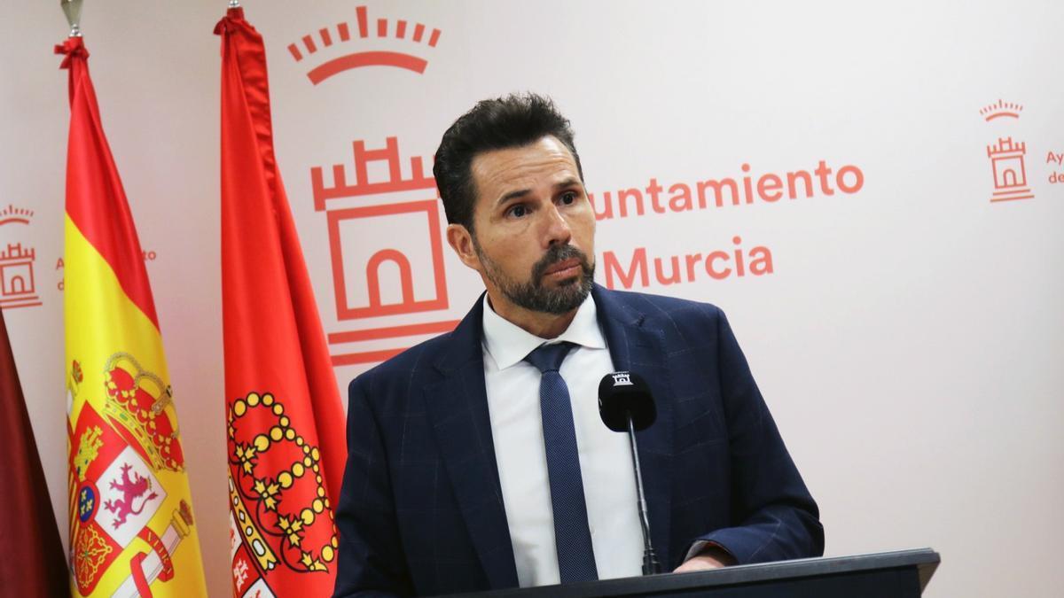 Mario Gómez, primer teniente de alcalde y concejal delegado de Fomento