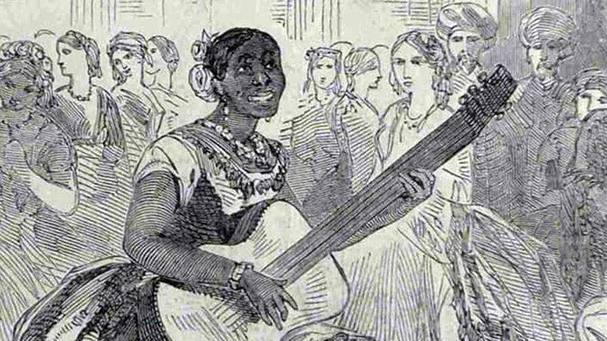 María Martínez en el Majesty's Teathre. The Illustrated London News. British Newspaper Archive. |
