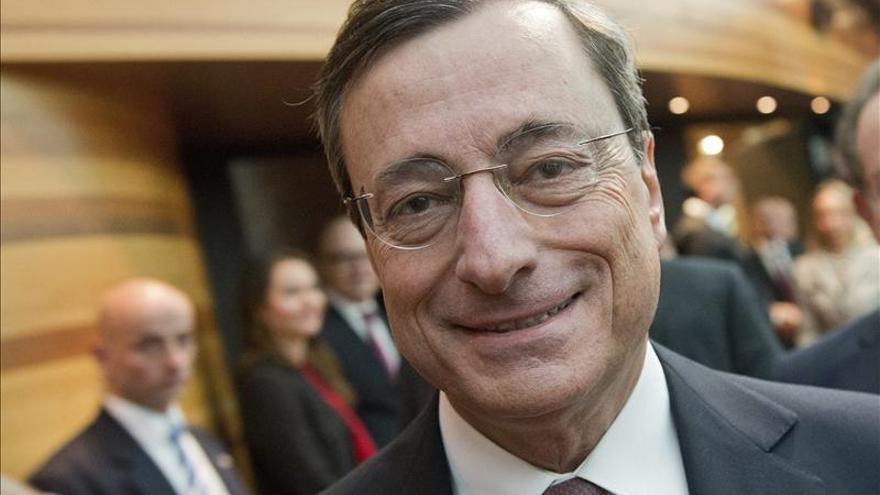 Draghi explica hoy en el Congreso la actuación del BCE ante la crisis