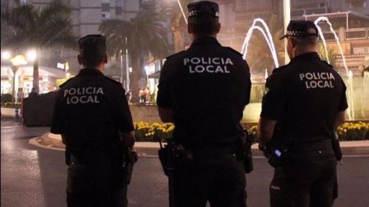 Agentes de Policía Local en una imagen de archivo.