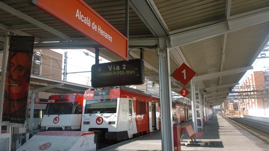 Una treintena de heridos, ninguno grave, en un accidente de tren en Alcalá