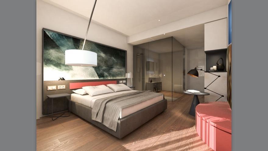 El hotel NYX Bilbao abrirá sus puertas en el Arenal en primavera de 2019 y contará con 105 habitaciones