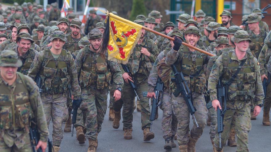 Soldados del Ejército de Tierra, en una imagen de archivo.