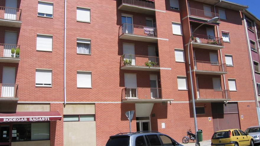 Archivo - Una vivienda en Navarra