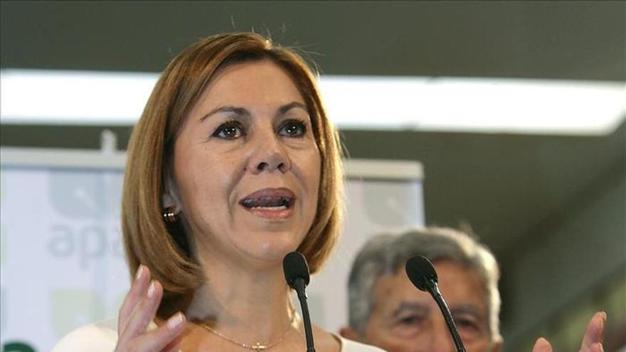"Cospedal promete 100.000 empleos ""como mínimo"" en la próxima legislatura"
