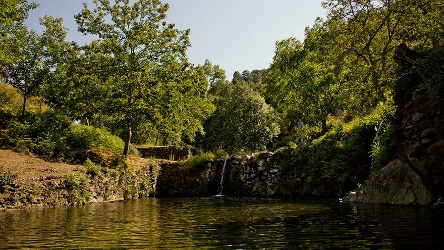 Río Árrago Robledillo Gata