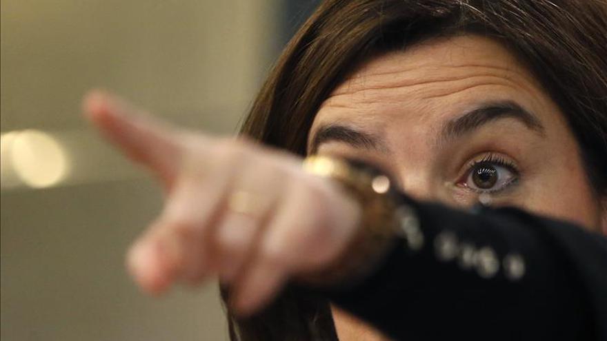 S.Santamaría no ve consenso en los partidos para reformar la Constitución