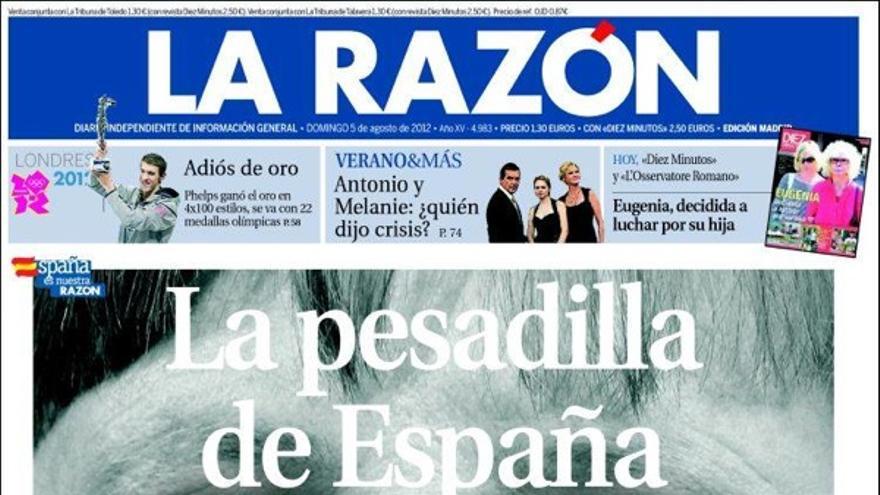 De las portadas del día (5/08/2012) #10