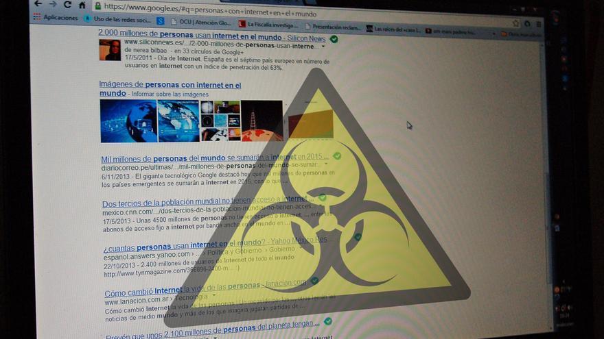 Navegar por Internet puede ser un peligro debido a la huella que deja el internauta.