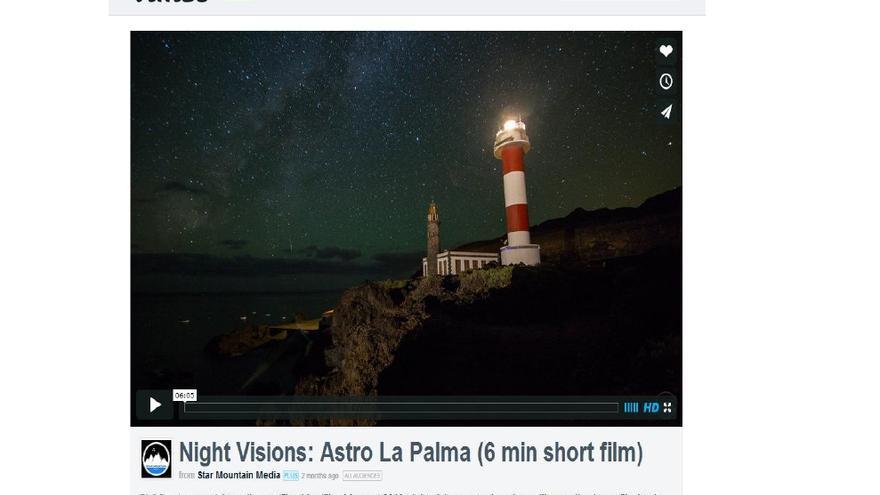 Informe de MMI sobre la presencia en la Red de la isla de La Palma.