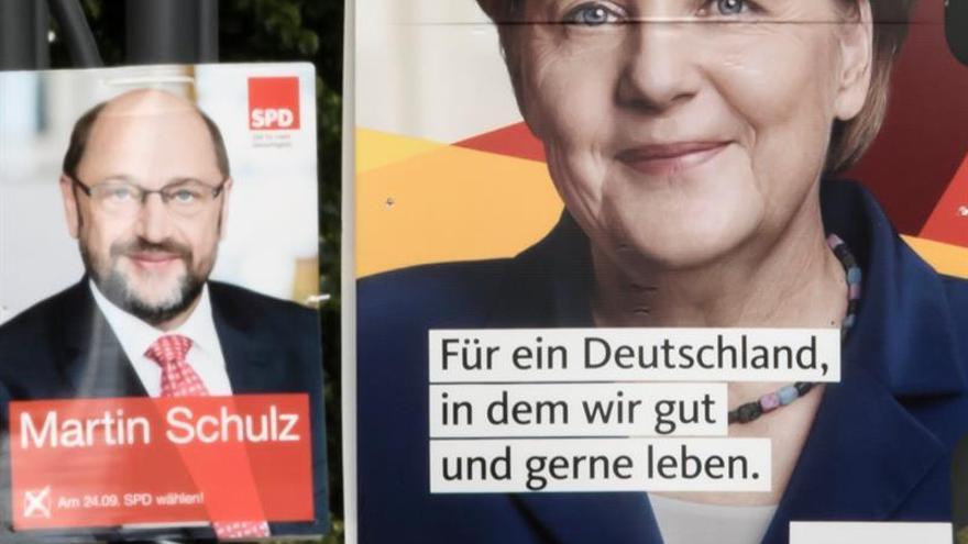 Schulz, ante su última gran oportunidad de remontar frente a Merkel