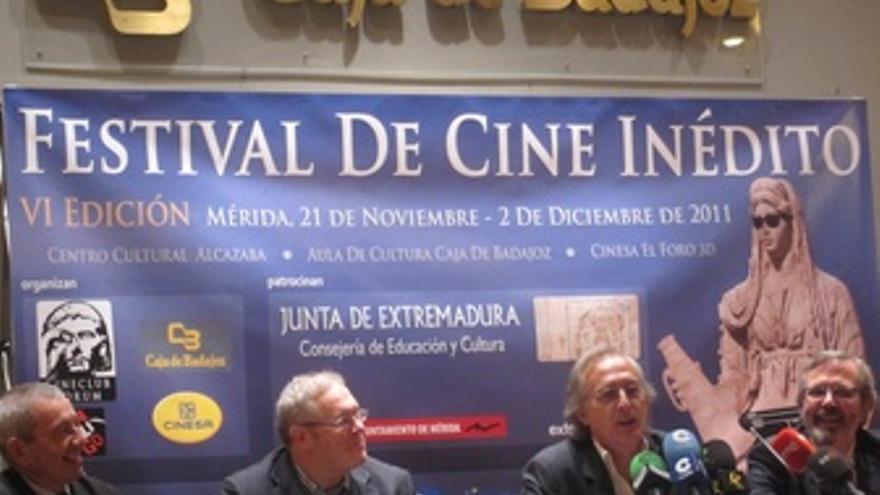Presentación Del Cine Inédito De Mérida