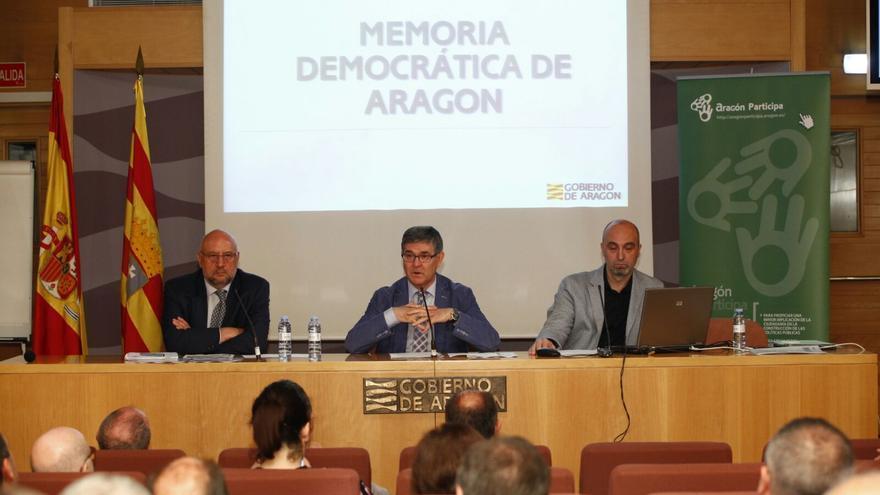 Hace tres meses se aprobó el proyecto de ley de Memoria Democrática de Aragón