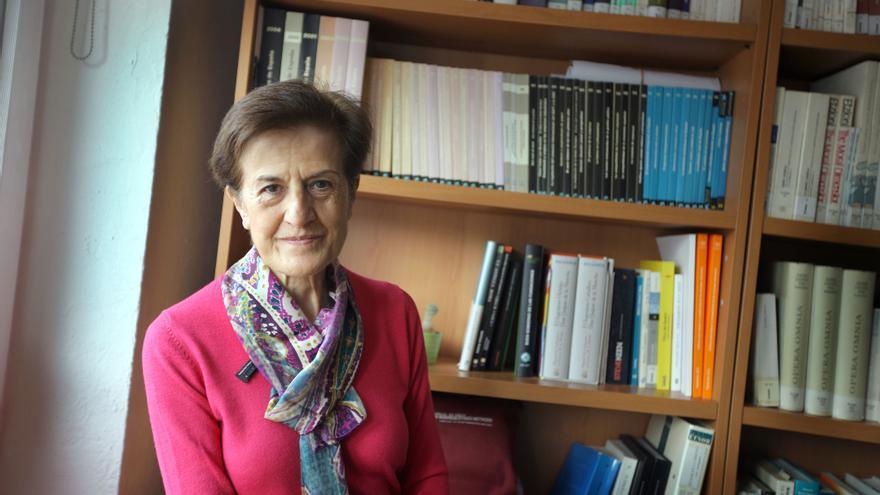 """Adela Cortina, filósofa y autora del libro """"Aporofobia, el rechazo al pobre""""."""