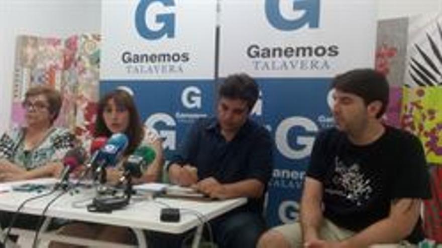 """Ganemos Talavera iniciará conversaciones con grupos y dice que el PP debió iniciarlas por """"responsabilidad"""""""