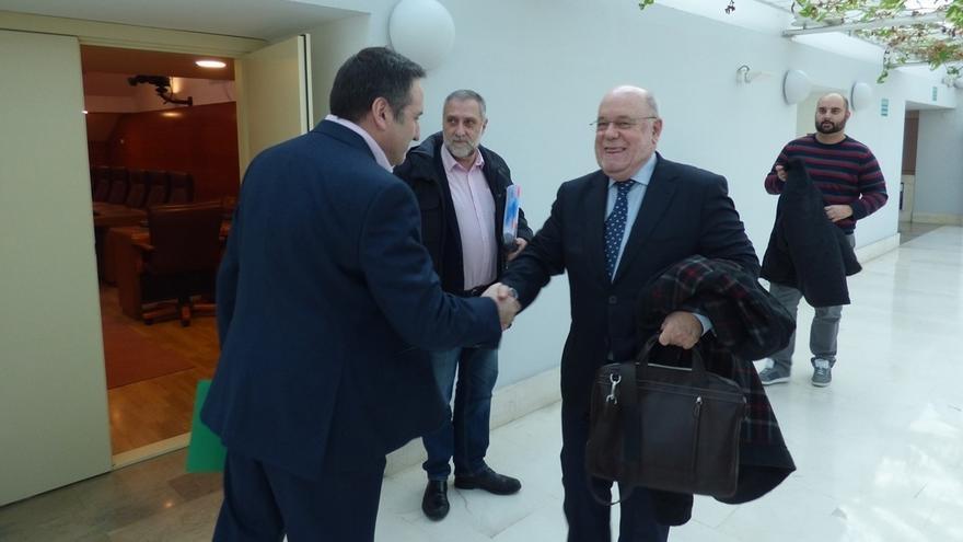 """Carrancio """"cree"""" que podrá llegar a un acuerdo con Gobierno, PRC y PSOE"""