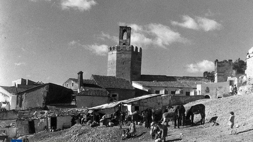 Imagen de archivo de El Campillo, décadas atrás / Diputación de Badajoz