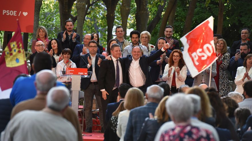 Presentación de la candidatura de Emilio Sáez a la Alcaldía de Albacete