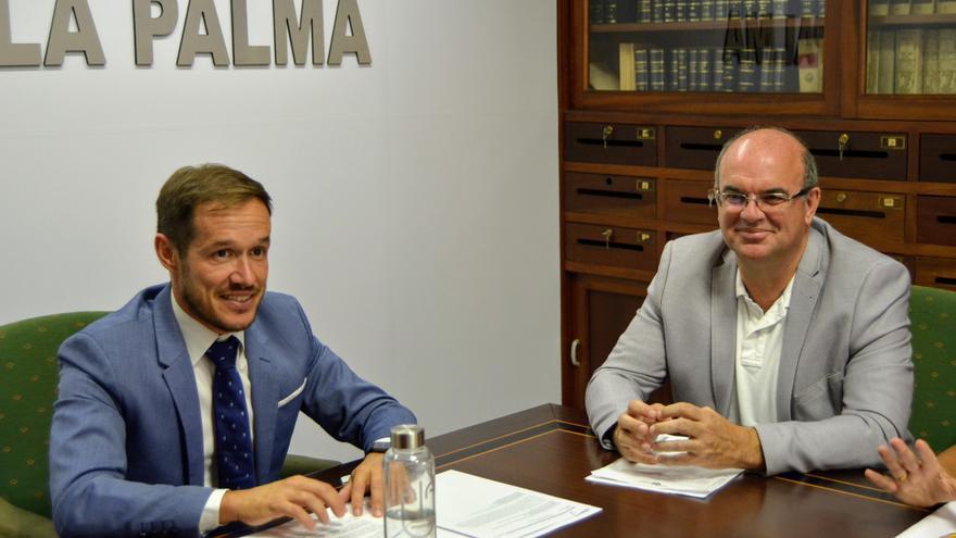 Mariano H Zapata y Anselmo Pestana.
