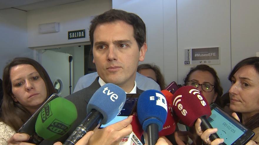 """Albert Rivera, sobre el comunicado de ETA: """"Ni hubo un 'conflicto', ni hay víctimas de primera y de segunda"""""""