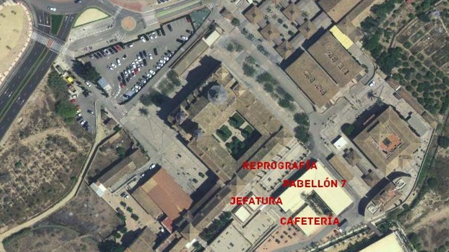 Edificios de la UCAM sin licencia de actividad