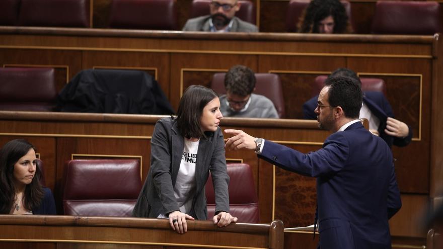 PP y PSOE culpan a Podemos y ERC de que el Congreso no apruebe una declaración institucional sobre Venezuela