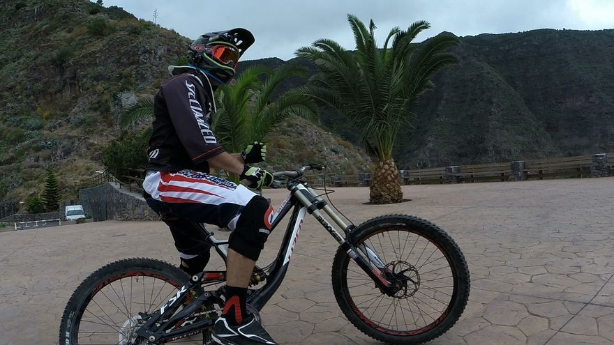 Mountain Bike en Hermigua