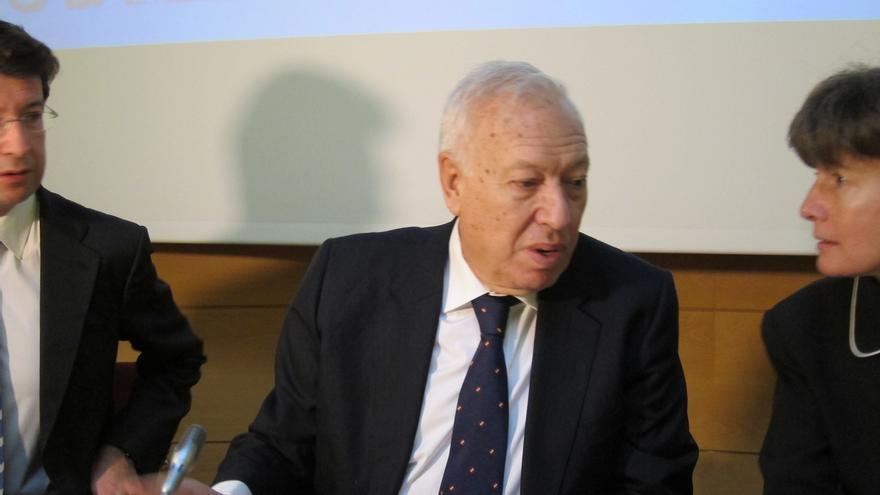 Margallo espera que el alto el fuego de Ucrania vaya seguido por un diálogo político que aporte una solución definitiva