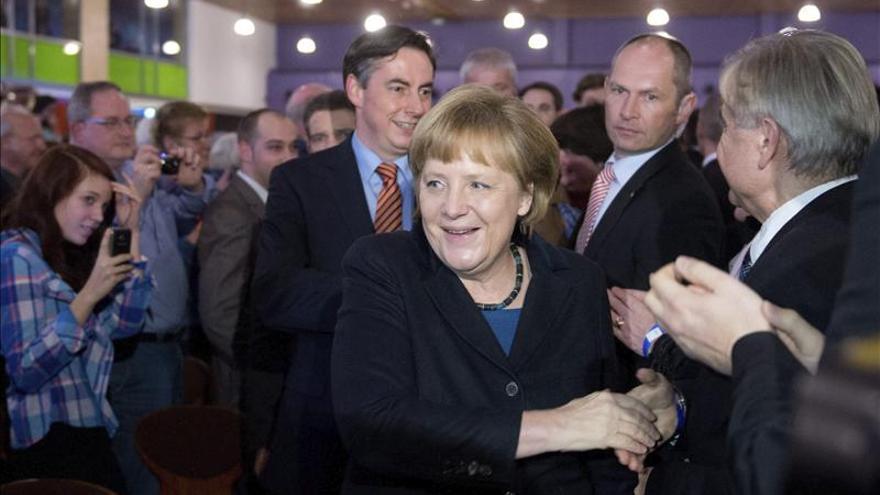 Merkel admite su derrota en el estado federado de Baja Sajonia