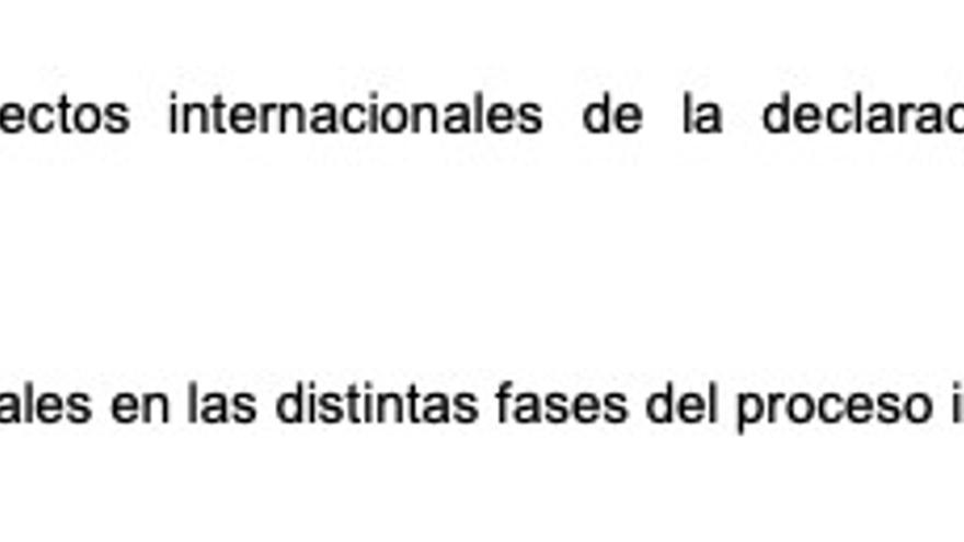 La formulación de querella inicial de la Fiscalía General del Estado
