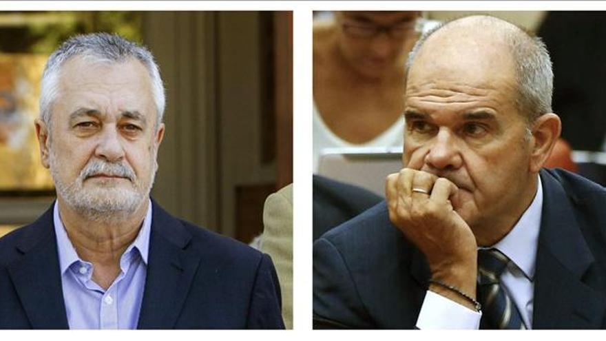 Chaves y Griñán piden formalmente comparecer ante el Supremo sobre los ERE