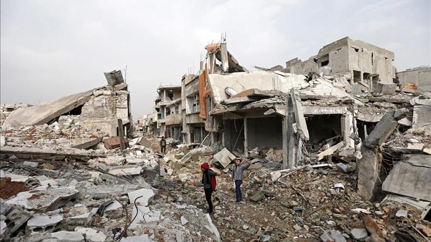 Kobani quiere renacer de sus cenizas