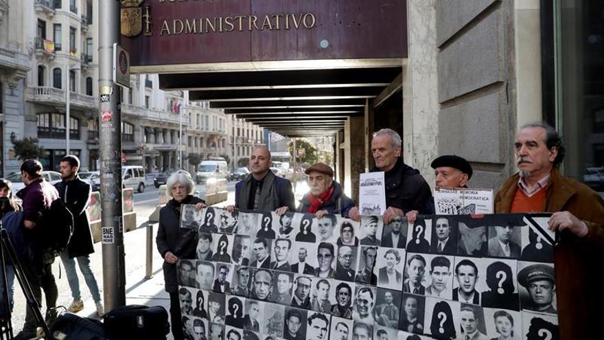 """Explican al juez el cambio de 52 calles Madrid por la """"exaltación"""" de la Guerra Civil"""