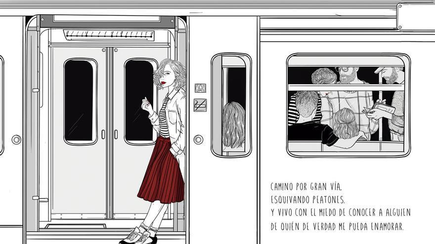 Ilustración de Sara Herranz. / Foto:Lunwerg