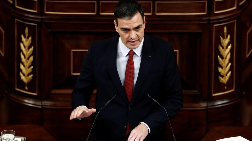 Sánchez comparece por tercera vez ante un Congreso vacío para pedir prorrogar el estado de alarma