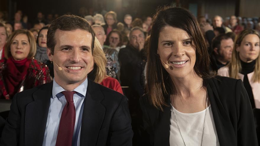 Casado se ha desplazado a Santander para oficiar las candidaturas del PP a Cantabria y Santander.
