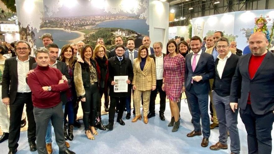Buruaga (PP) pide en Fitur más planificación y orden de los recursos turísticos de Cantabria