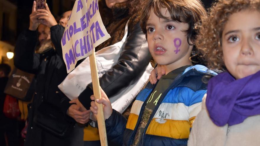 Manifestación 25N en Toledo