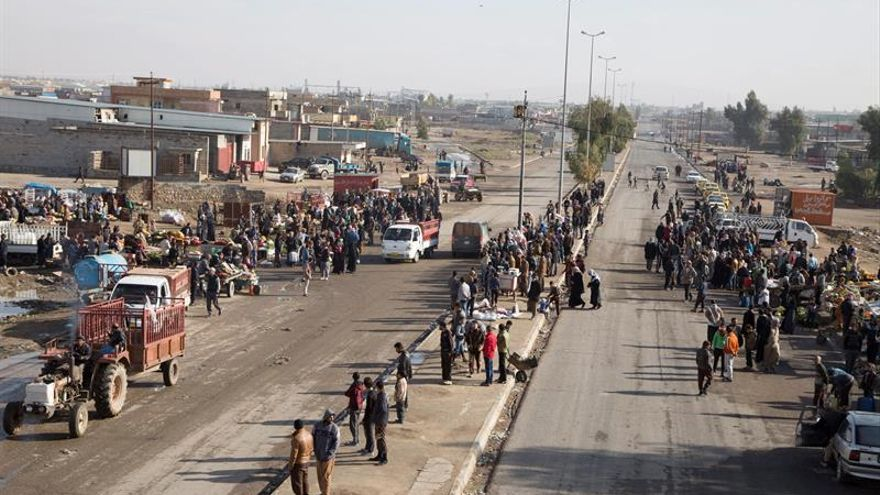 El ejército iraquí libera dos poblaciones al norte de Mosul