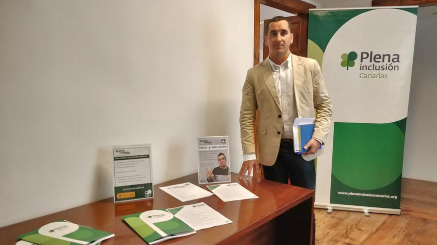 Borja Pérez, candidato del PP al Senado por La Palma.