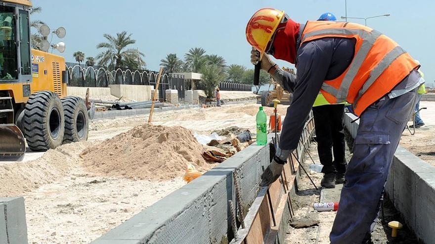 El desplome del sector se ha traducido en la destrucción de muchísimos empleos. (EFE).