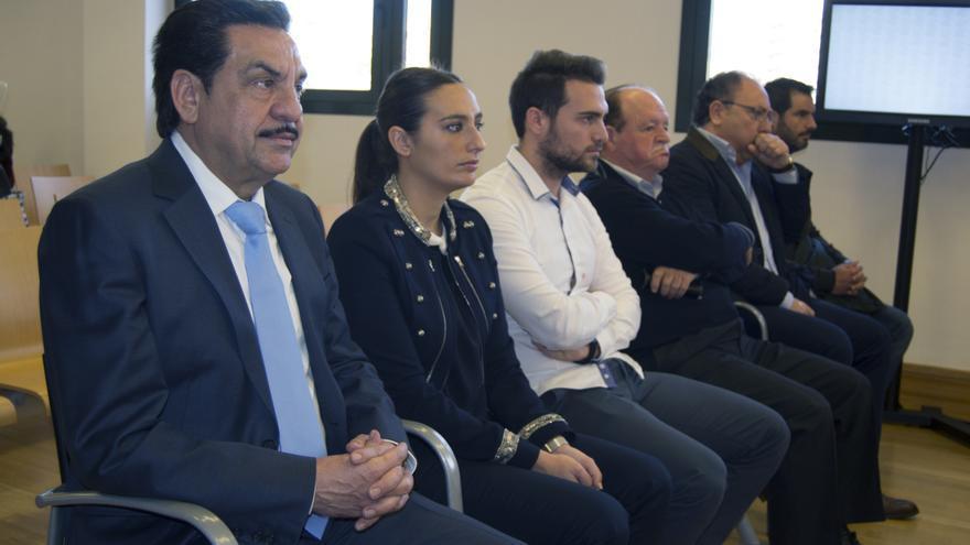 Francisco Martínez, exnúmero dos de Carlos Fabra, durante el juicio que se lleva a cabo en la Audiencia de Castellón
