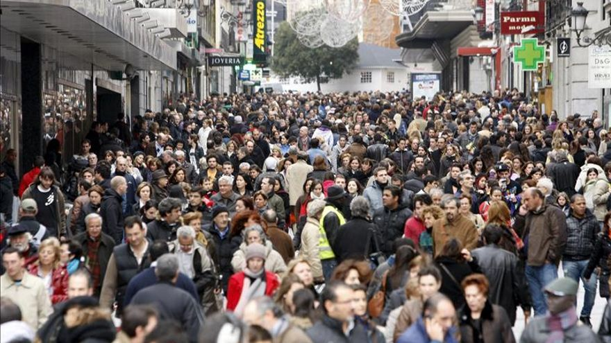 el aumento de la poblacion: