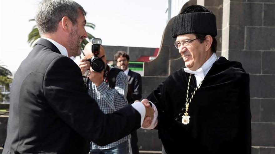 Martinón pide a Clavijo más claridad sobre el papel de las universidades de Canarias