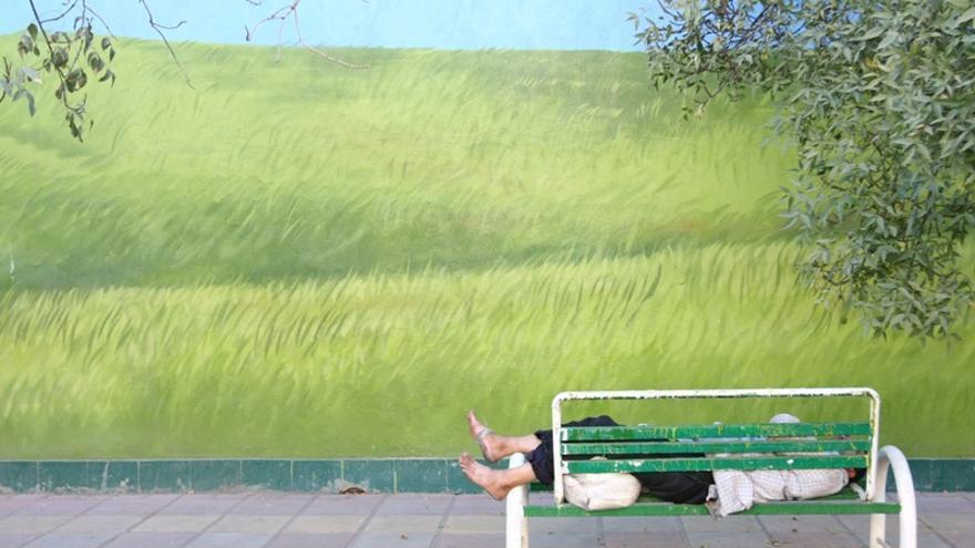 Escena de Writing on the City, en Teherán