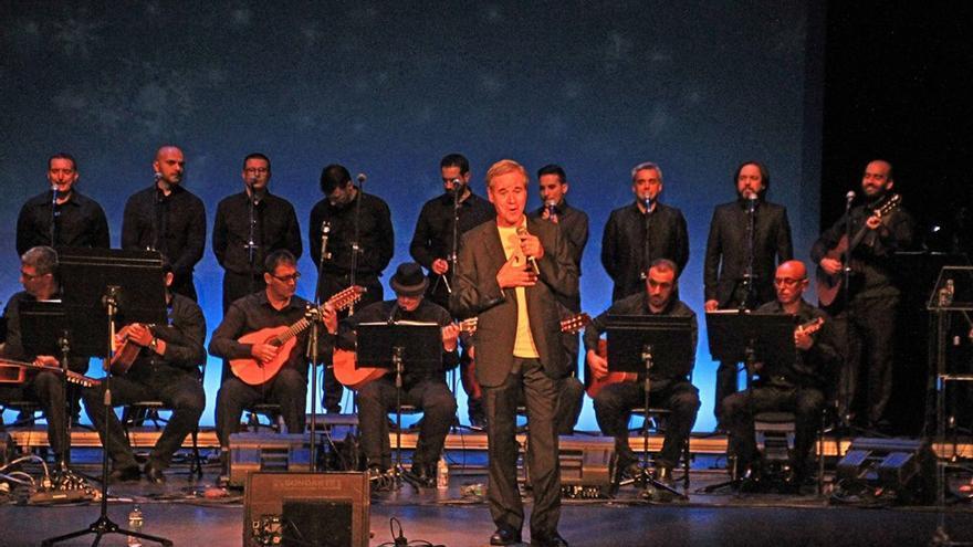 Luis Morera en una actuación.