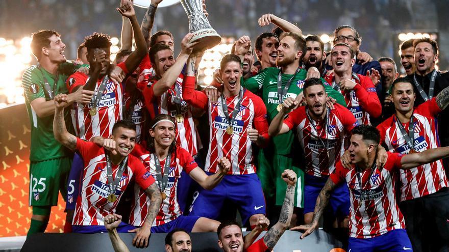 Atlético de Madrid, campeón de la Europa League ante el Olympique Marsella