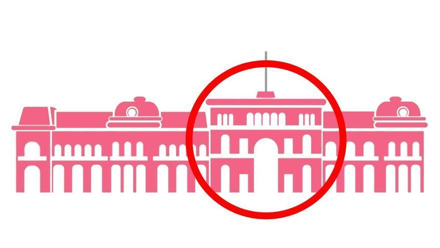 El círculo rojo volvió a la Casa Rosada