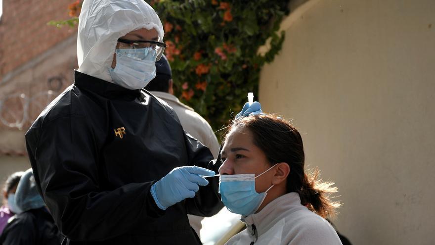 Bolivia registra 715 nuevos contagios por coronavirus y 14 muertos